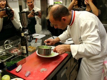 demonstration culinaire davy tissot